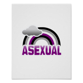 ASEXUAL RAINBOW POSTER