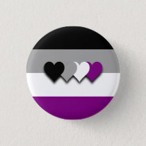 Asexuality flag button