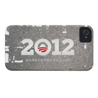 Asfalto 2012 del caso del iPhone de Obama iPhone 4 Case-Mate Carcasa