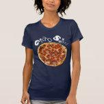 ¡Asga alguno! Camisa de la pizza - oscuridad