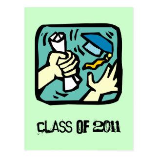 ¡Asga ese diploma! Clase de la postal 2011