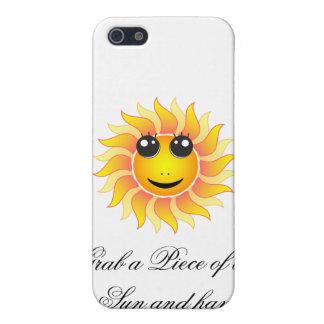 Asga un pedazo del Sun y diviértase iPhone 5 Carcasas