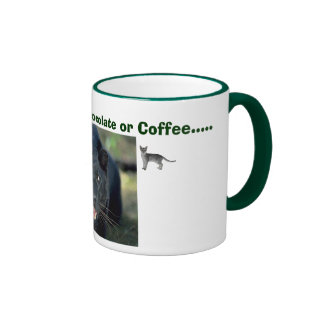 ash, abby, panther212, If You don't have Chocol... Ringer Coffee Mug