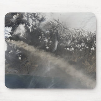 Ash and steam continue billowing mouse pad