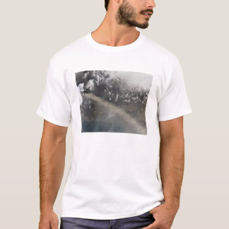 Ash and steam continue billowing T-Shirt