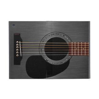 Ash Black Acoustic Guitar Covers For iPad Mini