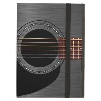Ash Black Acoustic Guitar iPad Air Cases