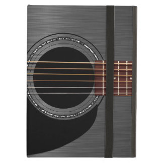 Ash Black Acoustic Guitar iPad Air Cover