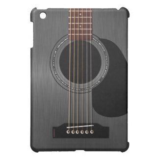 Ash Black Acoustic Guitar iPad Mini Case