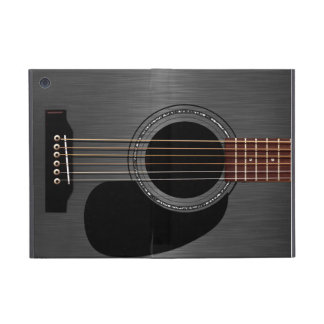 Ash Black Acoustic Guitar iPad Mini Cover