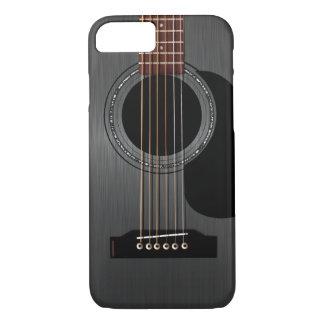 Ash Black Acoustic Guitar iPhone 7 Case