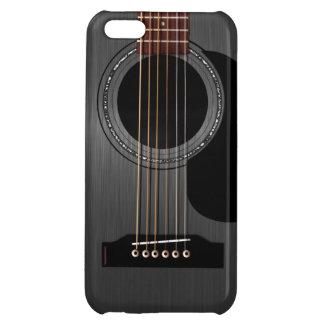 Ash Black Acoustic Guitar iPhone 5C Cover