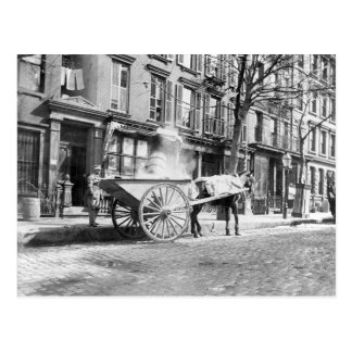 Ash Cart New York 1896 Post Cards