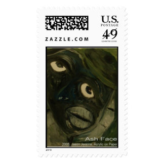 Ash Face Postage Stamps