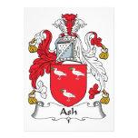 Ash Family Crest Invitations