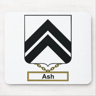 Ash Family Crest Mouse Pad