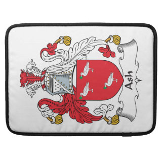 Ash Family Crest Sleeves For MacBook Pro