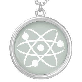 Ash Gray Atom Necklaces