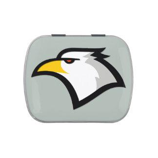 Ash Gray Bald Eagle Candy Tins