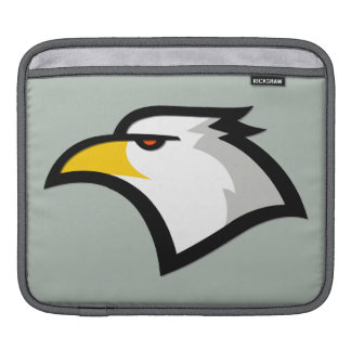 Ash Gray Bald Eagle iPad Sleeve