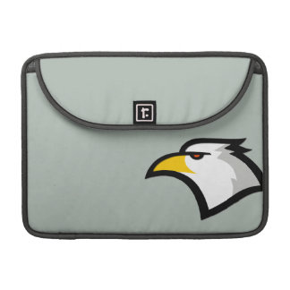 Ash Gray Bald Eagle Sleeves For MacBooks