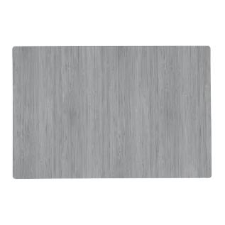 Ash Gray Bamboo Wood Grain Look Placemat at Zazzle