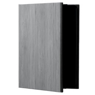 Ash Gray Bamboo Wood Look Powis iPad Air 2 Case