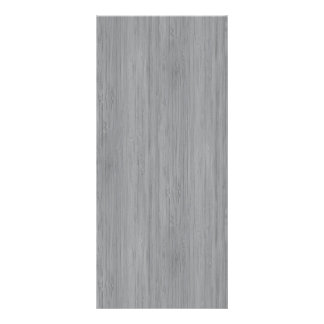 Ash Gray Bamboo Wood Look Full Color Rack Card