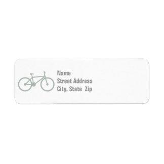 Ash Gray Bicycle Label