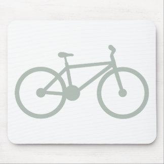 Ash Gray Bicycle Mousepads