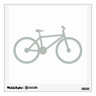 Ash Gray Bicycle Wall Skin
