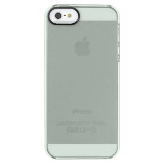 Ash Gray Clear iPhone SE/5/5s Case