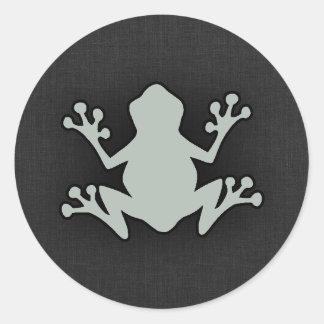 Ash Gray Frog Sticker