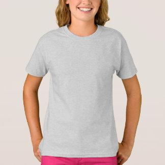 Ash Gray Girls' Hanes TAGLESS® T-Shirt