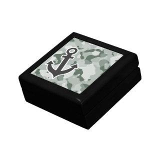 Ash Gray; Grey Camo; Anchor Gift Box