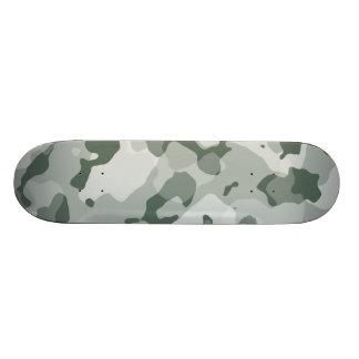 Ash Gray; Grey Camo; Camouflage Skateboard