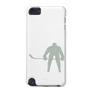 Ash Gray Hockey iPod Touch (5th Generation) Cover