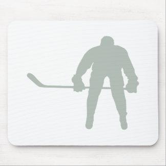Ash Gray Hockey Mousepad