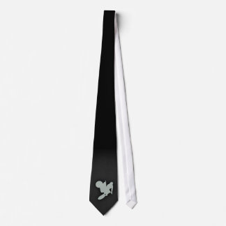 Ash Gray Motocross Neck Tie
