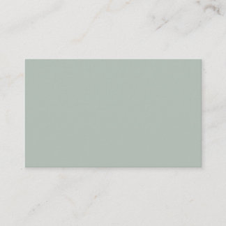 Ash Gray Oceania Business Card