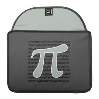 Ash Gray Pi Symbol Sleeve For MacBooks