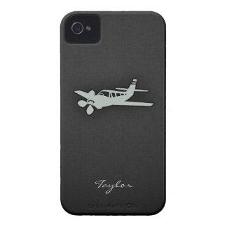Ash Gray Plane iPhone 4 Case-Mate Cases