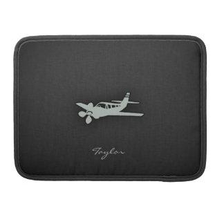 Ash Gray Plane MacBook Pro Sleeve