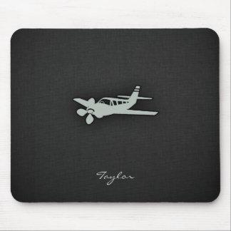 Ash Gray Plane Mouse Pad