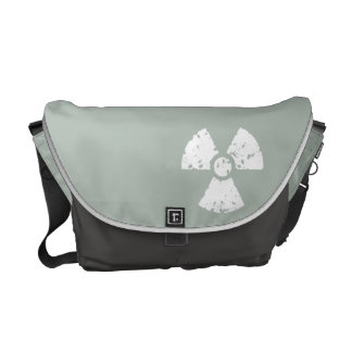 Ash Gray Radioactive Courier Bag