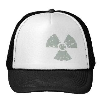 Ash Gray Radioactive Trucker Hat