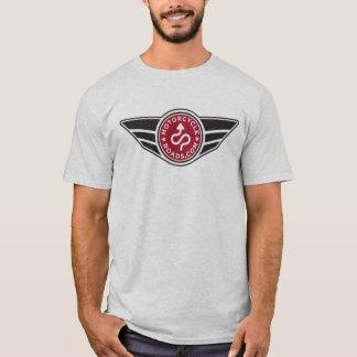 Ash Grey t-shirt w/basic red MCR logo