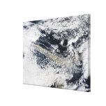 Ash plume from Eyjafjallajokull Volcano 2 Canvas Print