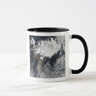 Ash plume from Eyjafjallajokull Volcano, Icelan Mug