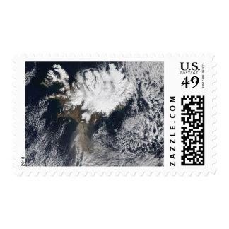Ash plume from Eyjafjallajokull Volcano, Icelan Postage